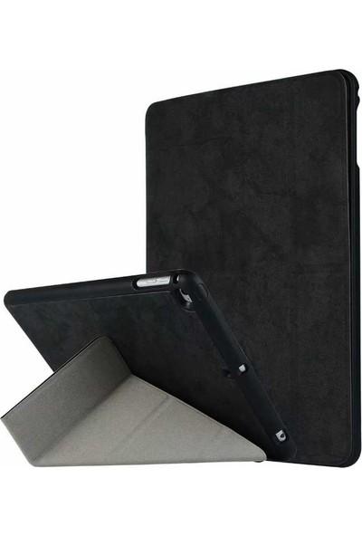 Tbkcase Apple İPad Air 2 Standlı Kapaklı Kılıf Siyah