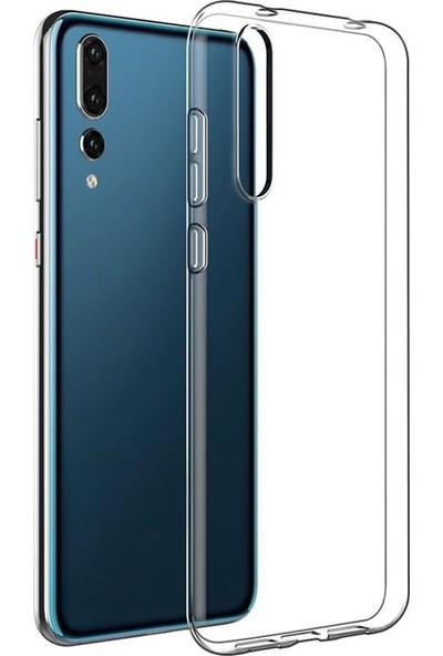 Tbkcase Xiaomi Mi9 SE Silikon Kılıf Şeffaf