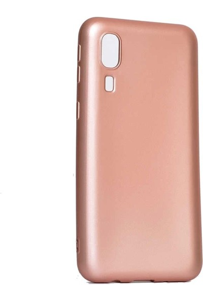 Tbkcase Samsung Galaxy A2 Core Lüks Silikon Kılıf Rose Gold