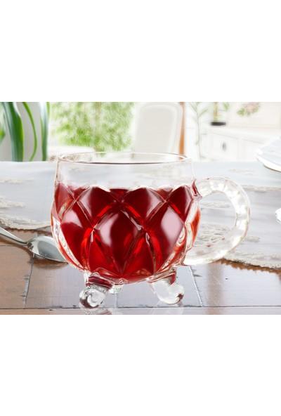 Madame Coco Adele 6'Lı Çay Fincanı