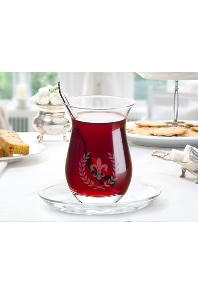 Madame Coco Fleur De Lys 6'Lı Çay Bardağı