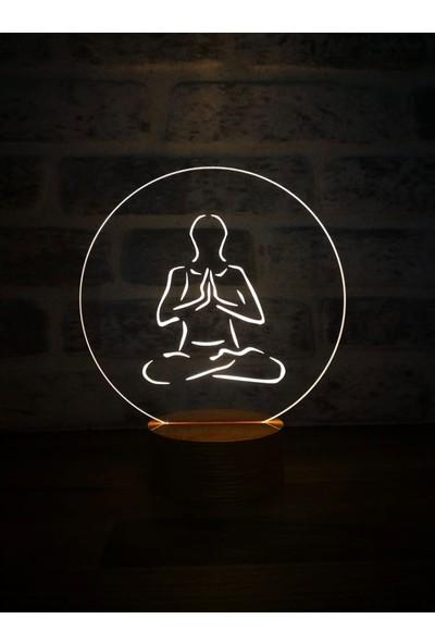 By-Lamp 3 Boyutlu Meditasyon Lamba
