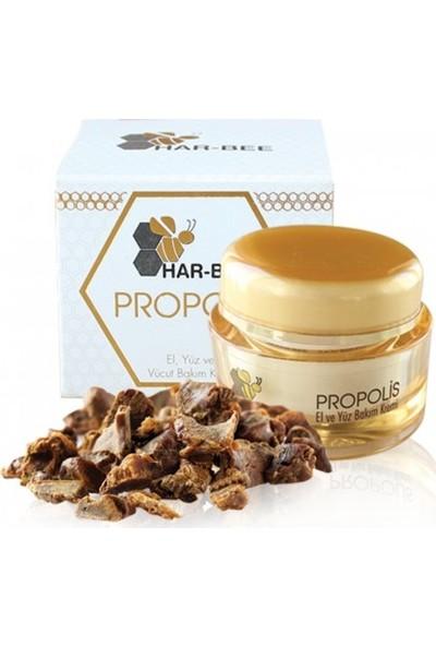 Har-Bee Propolis Besleyici Antioksidan Antibakteriyel Ve Doku Yenileyici Cilt Bakım Kremi 50 ml