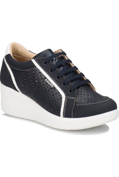 Kinetix Revan Perf. Lacivert Kadın Sneaker Ayakkabı