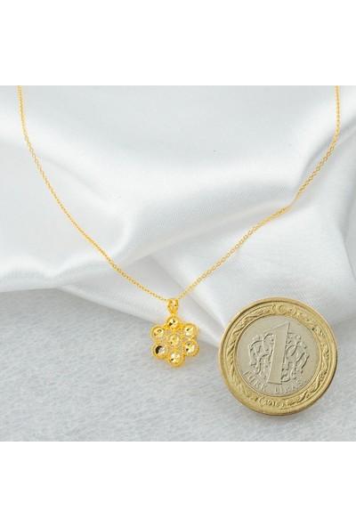 Label Jewelry Taşsız 22 Ayar Altın Kolye