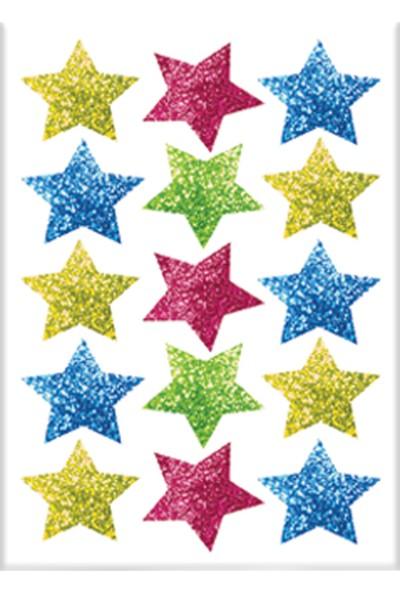 Keskin Color 8*12 Damla Çıkartma-Simli Yıldız