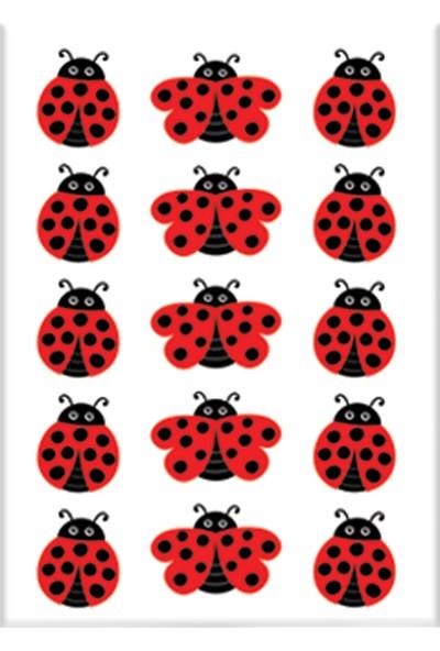 Keskin Color 8*12 Damla Çıkartma-Uğur Böceği2