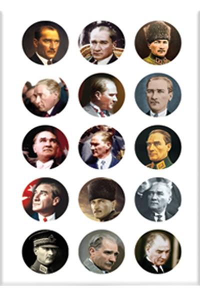 Keskin Color 8*12 Damla Çıkartma-Atatürk