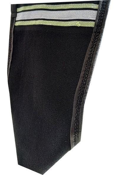 Micro Peel İpek Sırt ve Vücut Tellak Kese Siyah 18 x 27 cm