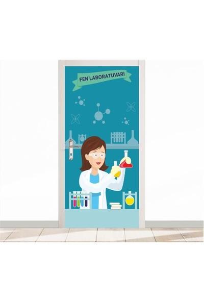 Okulposteri Fen Laboratuvari 4 Kapi Gi̇ydi̇rme
