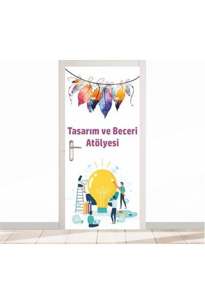 Okulposteri Okulposteri Tasarim ve Beceri̇ Atölyesi̇ Kapı Giydirme