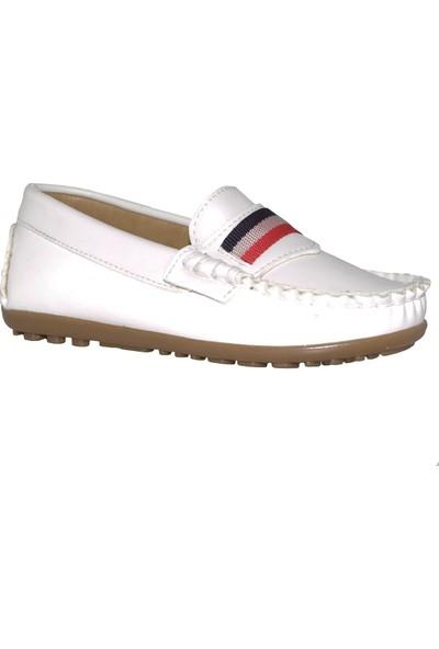 Barbone Erkek Çocuk Ayakkabı 26-30 Numara Beyaz