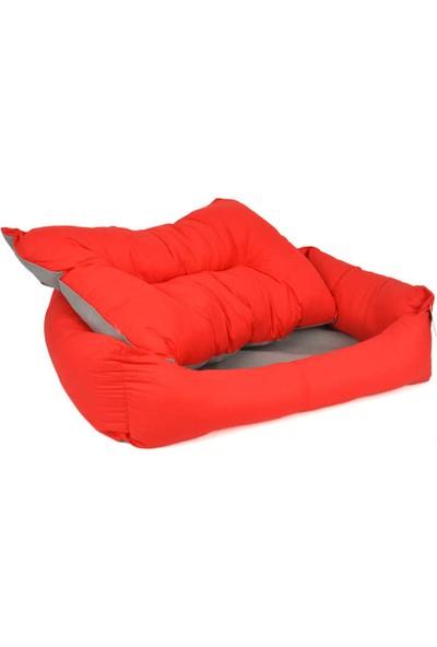 Pet Preety Kumaş Yatak No:1 Kırmızı
