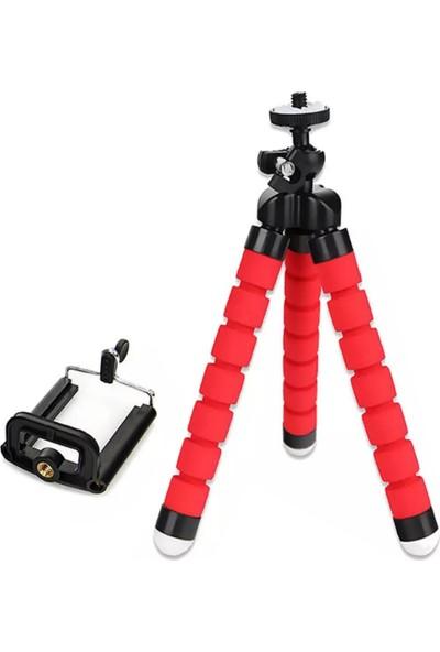 Shinwa Ahtapot Tripod Kamera Cep Telefonu Tripod Stand Çubuğu Mini Tripod