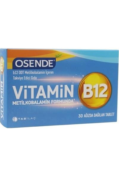 Osende Vitamin B12 Metilkobalamin 30 Tablet