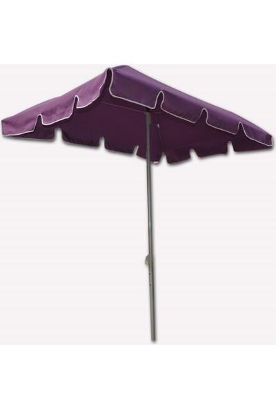 Bidesenal Bahçe Şemsiyesi Dikdörtgen Balkon Şemsiyesi Teras Şemsiye Havuz Şemsiye Cafe Şemsiyesi Gölgelik