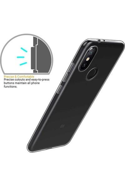 Casestore Casper Via F2 0.5 mm Süper Soft Şeffaf Silikon Kılıf + Nano Ekran Koruyucu