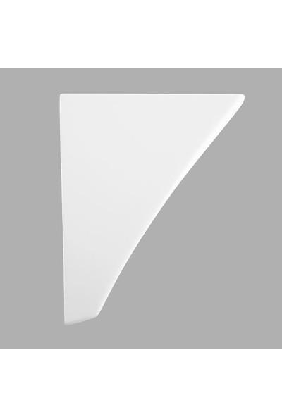 Lucco Loop 50 cm Asma Monoblok Beyaz Lavabo