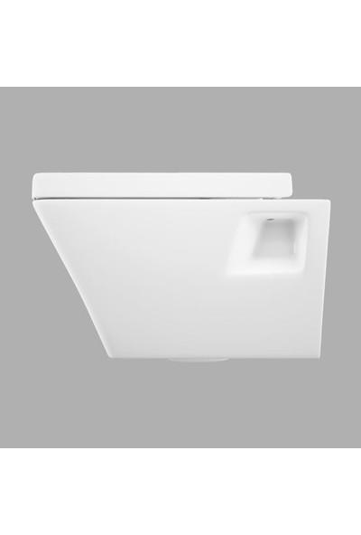 Lucco Loop 53 cm Asma Klozet Beyaz