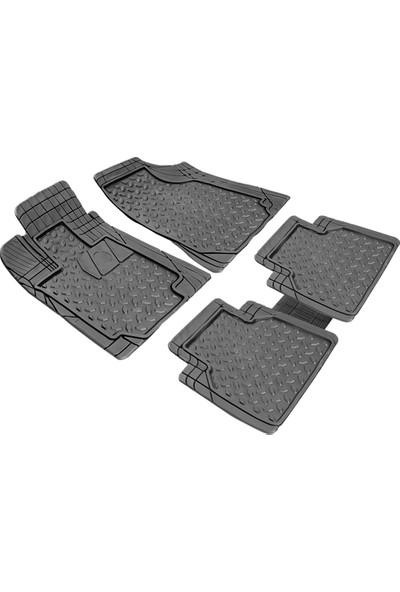 Carx Kristal Universal 3D Havuzlu Oto Paspas Siyah (Her Araca Uyumlu, Kesilebilir, Dayanıklı)
