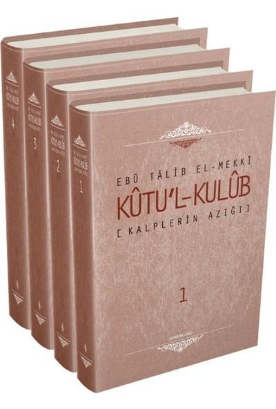 Kalplerin Azığı (Kutul Kulüb) - 4 Cilt - Ebu Talib El-Mekki