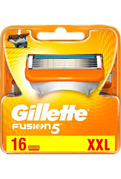 Gillette Fusion 16'lı Yedek Tıraş Bıçağı Karton Paket