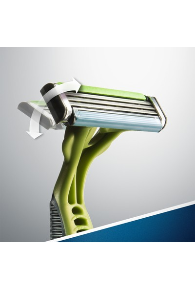 Gillette Blue3 SenseCare 6'lı Kullan At Tıraş Bıçağı