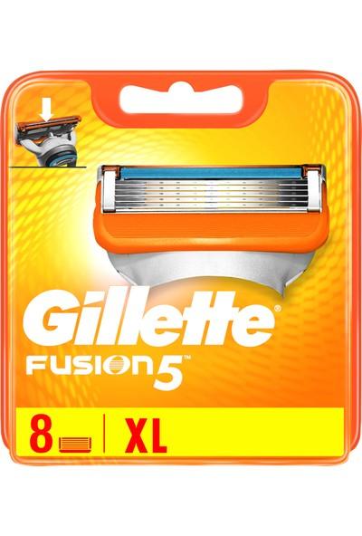 Gillette Fusion 8'li Yedek Tıraş Bıçağı Karton Paket