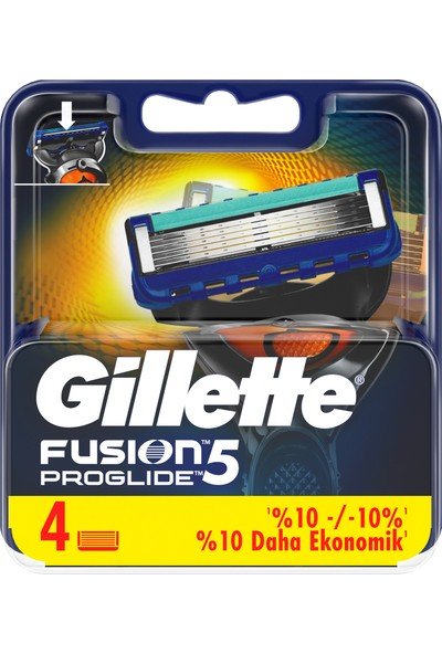 Gillette Fusion ProGlide 4'lü Yedek Tıraş Bıçağı