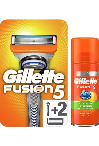 Gillette Fusion Proglide Bedelli Askerlik Fırsat Paketi + (Tıraş Makinesi Yedekli + 75 ml Jel)