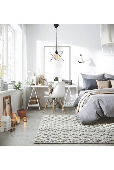 Hepsiniver Home Royal Zigzag Sarkıt Metal Yatak Odası Çoçuk Odası Koridor Mutfak Ofis Avizesi