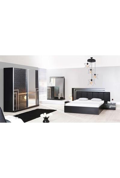 Hepsiniver Home Fulia 4'Lü Zigzag Sarkıt Metal Yatak Odası Salon Oturma Odası Restaurant Ofis Avizesi