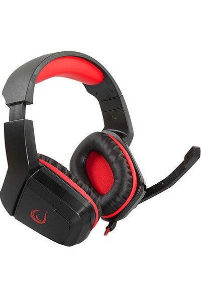 Rampage Rh1 Hectora Siyah/kırmızı 2*3,5mm Oyuncu Mikrofonlu Kulaklık