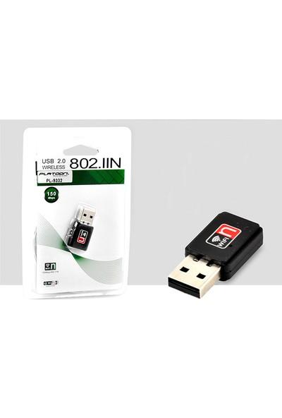 Platoon Pc USB Wi̇fi̇ Alici Mi̇ni̇ Kablosuz Ağ Adaptör PL-9332