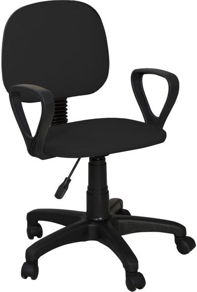Ege Marla Home Sekreter Çalışma ve Bilgisayar Koltuğu / Siyah