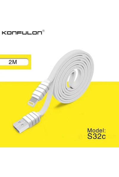 Konfulon Lightning Kablo USB Hızlı Şarj ve Data Kablosu 3'lü Paket