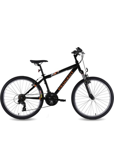 Peugeot Jm 245 360H 24 Jant Bisiklet 21 Vites Erkek Dağ Bisikleti Turuncu