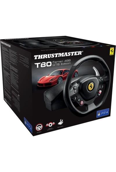 Thrustmaster T80 Ferrari 488 Gtb Edition Yarış Di̇reksiyonu (Pc/ps4)