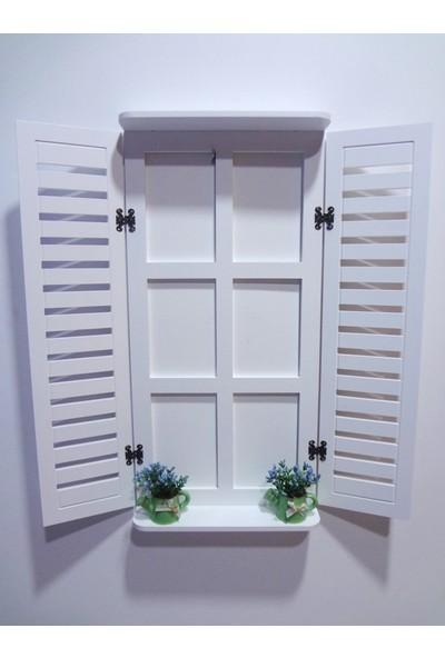 Ahşap Panjur Dekoratif Panjur Pencere Model