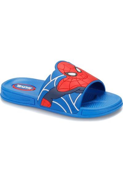 Spiderman 91.Eri-3.F Mavi Erkek Çocuk Terlik