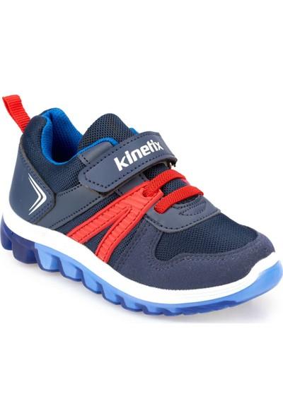 Kinetix Trust Lacivert Kırmızı Saks Erkek Çocuk Yürüyüş Ayakkabısı