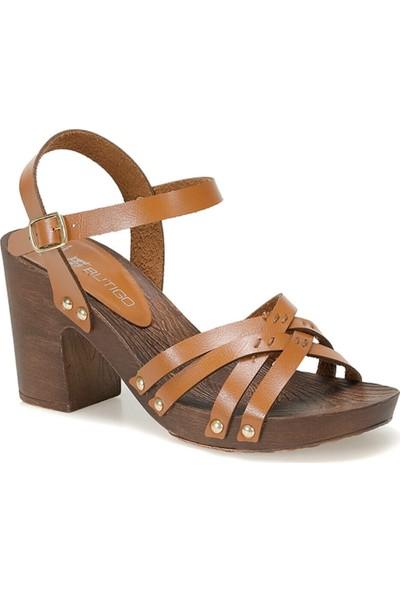Butigo 19S-372 Koyu Kahve Kadın Ayakkabı