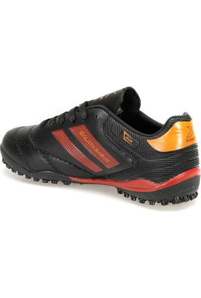 Gs Adolf Turf Siyah Kırmızı Erkek Halı Saha Ayakkabısı
