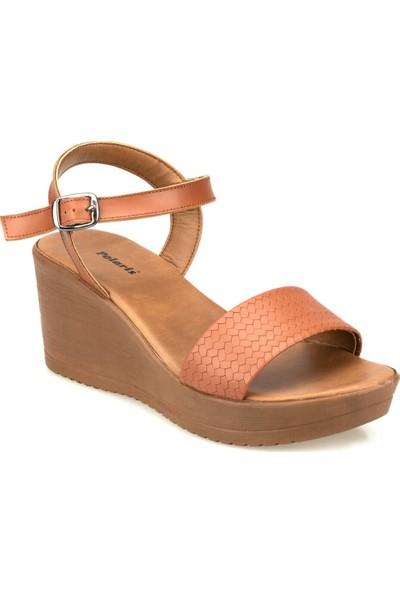 Polaris 91.313255.Z Taba Kadın Sandalet