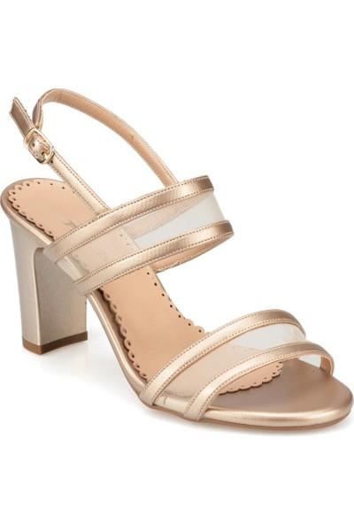 Polaris 91.313164.Z Altın Kadın Sandalet