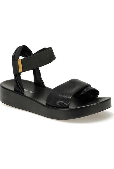 Polaris 91.158694.Z Siyah Kadın Sandalet