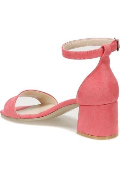 Butigo Sevilla25Y Süet Mercan Kadın Sandalet