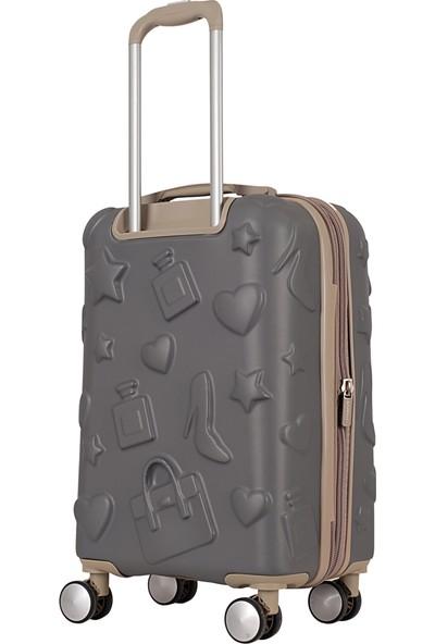 It Luggage 2240 Abs Büyük Boy Valiz Gri