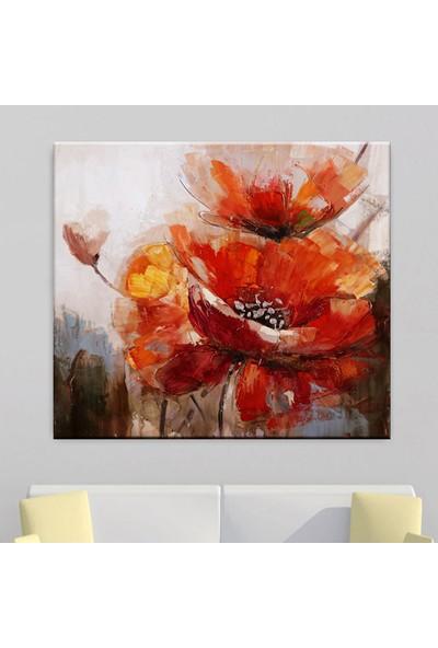 Dekomuz Çi̇çekler Kanvas Tablo 100 x 100