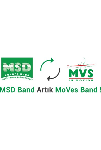 Egzersi̇z ve Pi̇lates Bandi Mvs Moves Band Msd Band